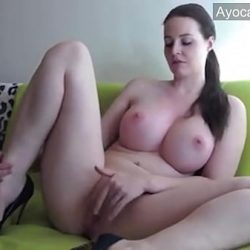Chubby Busty Russian Milf with Big Natural Tits